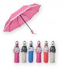 Guarda-Chuva com Folhos
