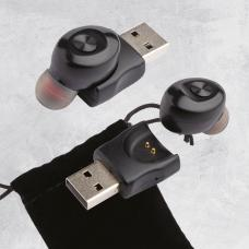 Auricular bluetooth, com carregador USB - Miniblue