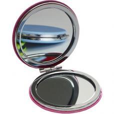 Espelho redondo em PU