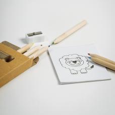 Conjunto de 6 lápis de cor Drawyon