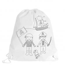 Mochila com Pinturas Piratas