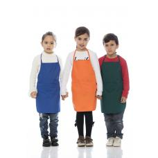 Avental de Criança unisexo em sarja poliéster-algodão