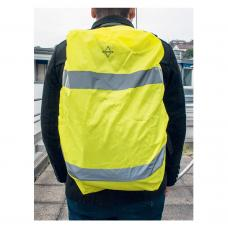Capa de alta visibilidade para mochila