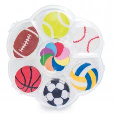 Conjunto de Borrachas - Sport Ball