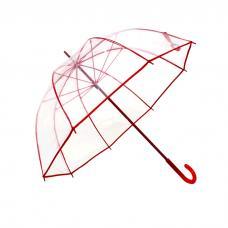 Guarda-Chuva Transparente Bicolor