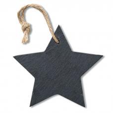 Cartão para pendurar em forma de estrela