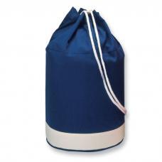 Saco de algodão bicolor com risca branca - Yatch