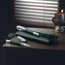 Conjunto de caneta «Twist» e caneta «roller»,  - Annecy
