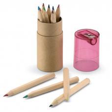 12 lápis de cor - Lambut