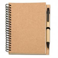 Caderno reciclado - Bloquero