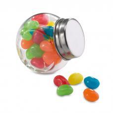 Pote de cristal com rebuçados - Beandy