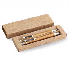 Conjunto de caneta e lapiseira
