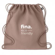 Saco tipo mochila confeccionado em tecido 100% cânhamo - NAIMA BAG
