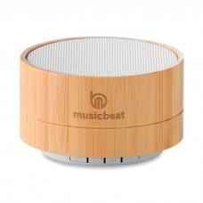 Coluna sem fio 4.2 em ABS com caixa de bambu - SOUND BAMBOO