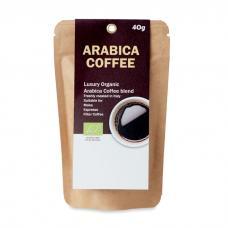Café arábica orgânico em pó - Arábica 40