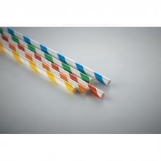 Conjunto de 10 palhinhas de papel palha - PAPER STRAW
