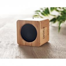 Alto-falante sem fio 5.0 com revestimento de bambu - AUDIO