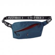 Bolsa cintura com 2 compartimentos anti-roubo - FESTIBAX BASIC