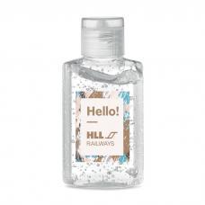 Gel de limpeza para mãos em frasco PET - GEL 60