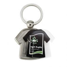 Porta-chaves de metal t-shirt 2 faces