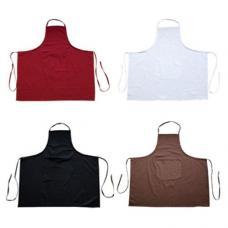 Avental ajustável com 1 bolso 100% algodão