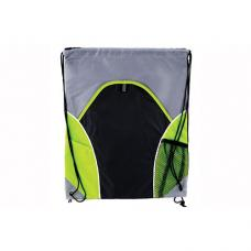 Saco mochila em PVC-210D com 2 bolsas